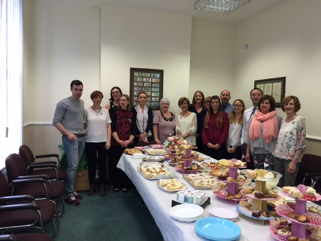 Macmillan Coffee Morning in our Lurgan accounting office