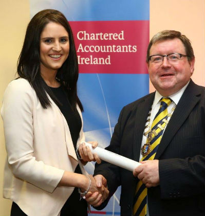 Laura Magee Admitted to Institute of Chartered Accountants